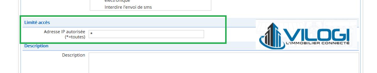 Accès utilisateurs par adresse IP