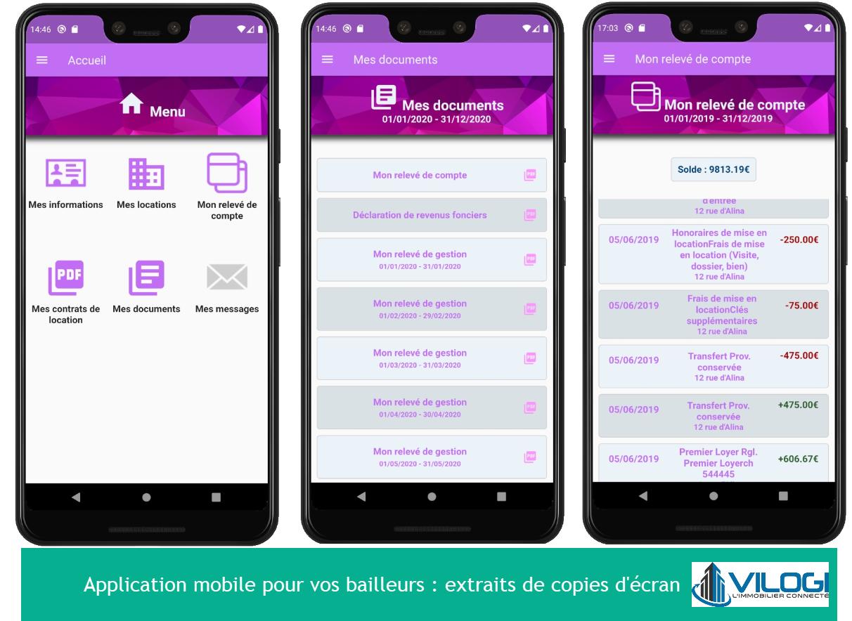 L'application mobile pour vos copropriétaires bailleurs
