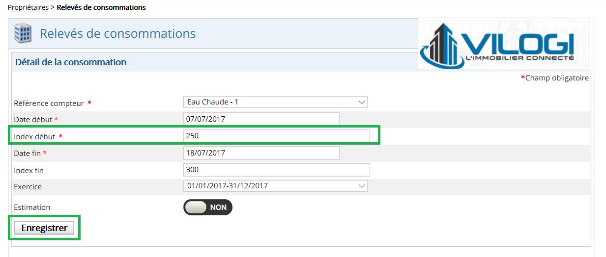 Modification de l index d initialisation